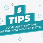 5 Tips voor online meetings