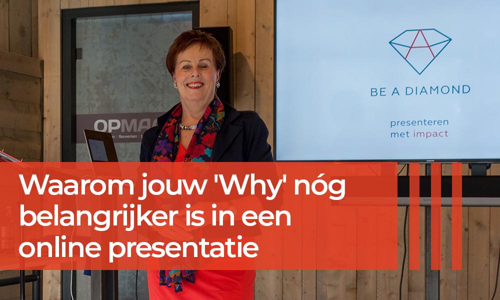 Waarom jouw 'Why' veel belangrijker is in een online presentatie